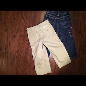Bundle Ralph Lauren jeans khakis pants 2t